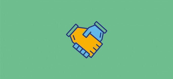 Handshake Grid L